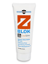 Z Blok Sunscreen - Won't sting your eyes